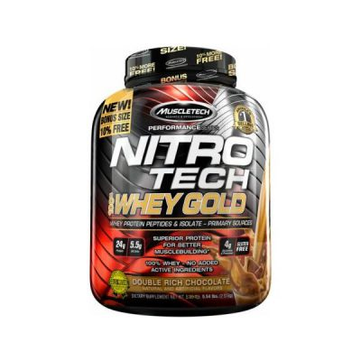 MT nitrotech whey gold
