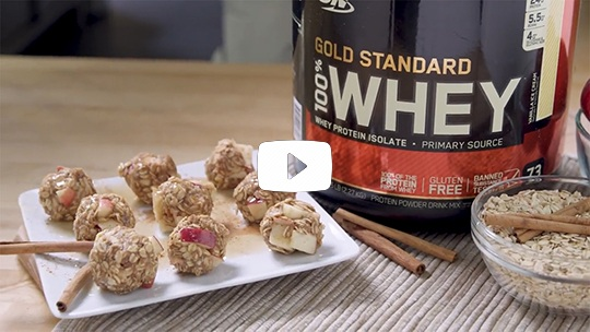 on-applepie protein balls